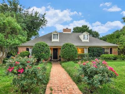 Austin Single Family Home For Sale: 3505 River Rd