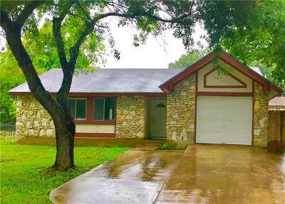Austin Single Family Home For Sale: 307 Craigmont Dr