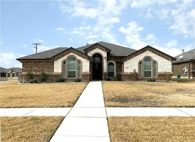 Killeen TX Single Family Home For Sale: $249,900