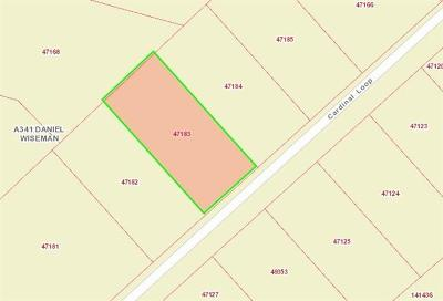 Paige Residential Lots & Land For Sale: 152 Cardinal Loop