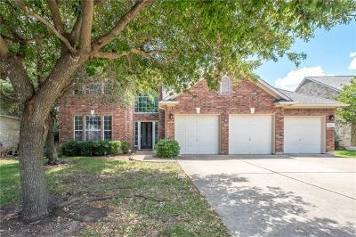 Round Rock TX Single Family Home For Sale: $459,900