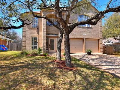 Cedar Park Single Family Home Pending - Taking Backups: 1805 Edelweiss Dr