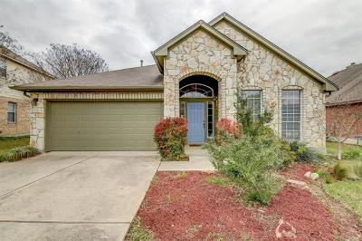 Pflugerville Single Family Home Pending - Taking Backups: 20548 Farm Pond Ln