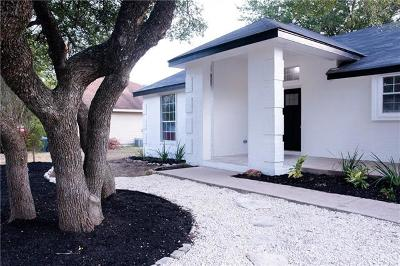 Georgetown Single Family Home For Sale: 3406 Broken Spoke Trl