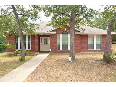 Cedar Creek Single Family Home Pending - Taking Backups: 323 Shady Oaks Loop