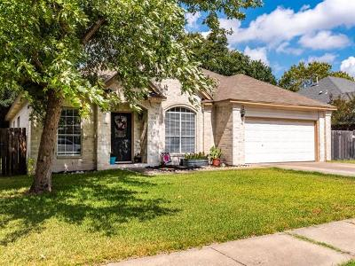 Pflugerville Single Family Home For Sale: 1010 Pine Creek Dr