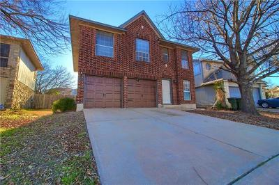 Pflugerville Single Family Home Pending - Taking Backups: 911 Flatters Way