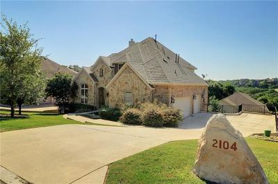 Leander Single Family Home For Sale: 2104 Bighorn