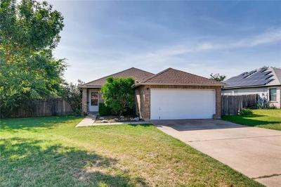 Round Rock Single Family Home For Sale: 2932 Donnell Dr