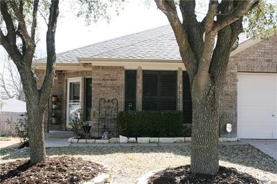 Pflugerville Single Family Home Pending - Taking Backups: 17827 Madden Dr
