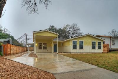 Austin Single Family Home For Sale: 806 Philco Dr #A