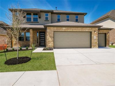 Hutto Single Family Home For Sale: 407 Hereford Loop