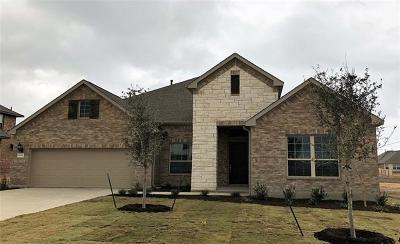 Round Rock Single Family Home For Sale: 6725 Leonardo Dr