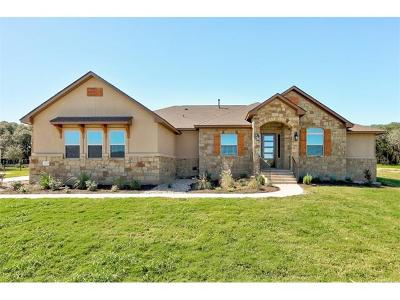 Leander Single Family Home For Sale: 2621 Greatwood Trl
