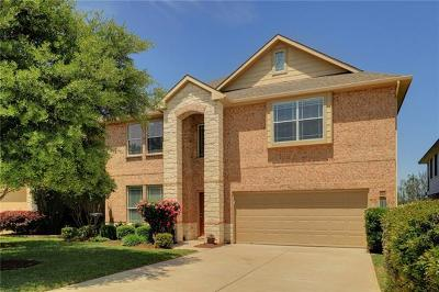 Round Rock Single Family Home For Sale: 1726 Greenside Trl