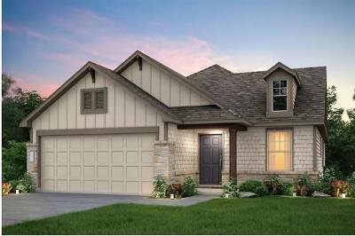 Hutto Single Family Home For Sale: 1014 McCormick Cv