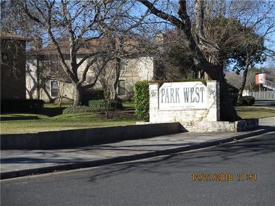 Austin Condo/Townhouse For Sale: 10616 Mellow Meadows Dr #13A