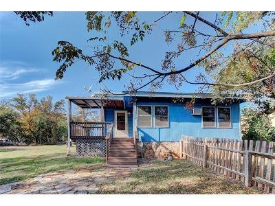Burnet Single Family Home For Sale: 114 Lakewood Dr
