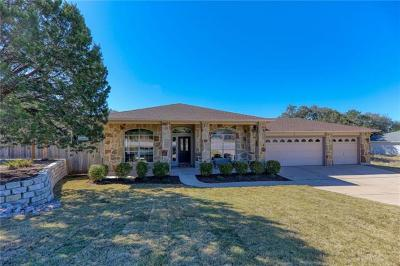 Lago Vista Single Family Home For Sale: 2608 American Dr