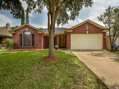 Pflugerville Single Family Home For Sale: 17321 Bishopsgate Dr