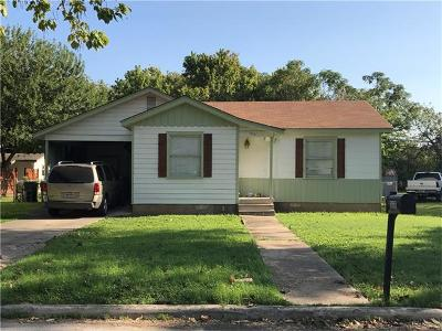 San Marcos Single Family Home For Sale: 317 Sherbarb Ave