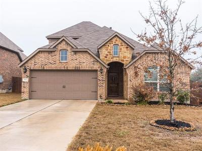 Pflugerville Single Family Home For Sale: 3932 Jennie Marie Dr