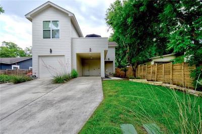 Austin Condo/Townhouse For Sale: 2607 Wilson St #B