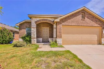 Leander Single Family Home For Sale: 120 Snowy Egret Ln