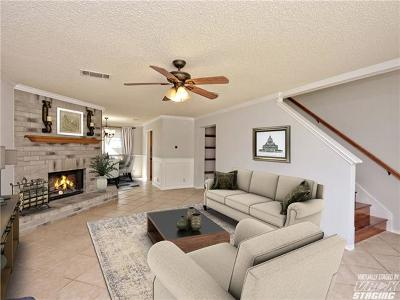 Round Rock Single Family Home For Sale: 2007 Boxwood Path