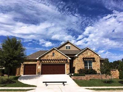 Leander Single Family Home For Sale: 2529 Carretera Dr