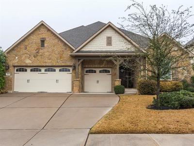 Round Rock Single Family Home For Sale: 4520 Cervinia Dr