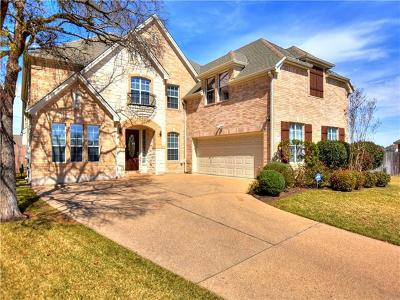 Round Rock Single Family Home For Sale: 2700 Plantation Dr