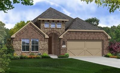 Round Rock Single Family Home For Sale: 5805 Bellissima Way