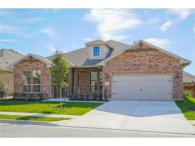 Round Rock Single Family Home For Sale: 4857 Fiore Trl