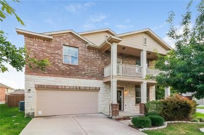 Round Rock Single Family Home For Sale: 1066 Sussex Way