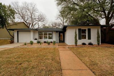 Austin Single Family Home Pending - Taking Backups: 1302 Glencrest Dr