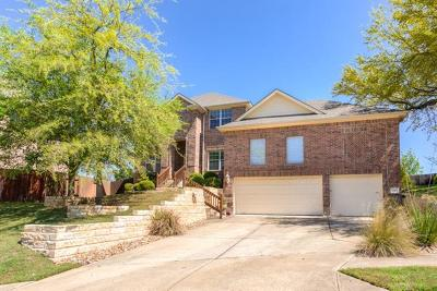 Cedar Park Single Family Home For Sale: 2503 Durlston Ct