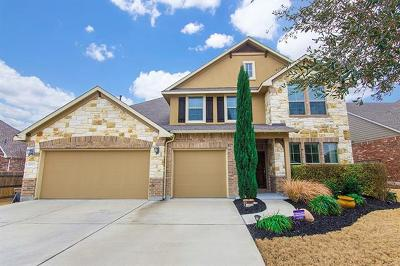 Round Rock Single Family Home Pending - Taking Backups: 2813 Saint Frances Ct