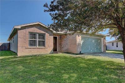 Hutto Single Family Home For Sale: 107 Wren Cv
