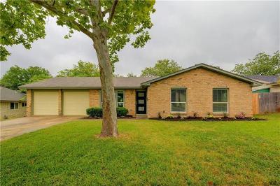Travis County Single Family Home Pending - Taking Backups: 9707 Mountain Quail Rd