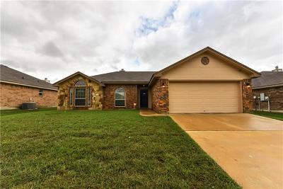Killeen Single Family Home For Sale: 307 E Vega Ln