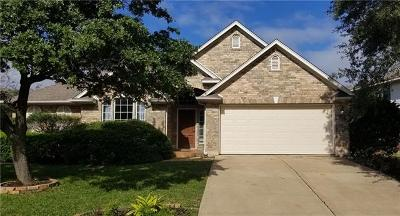 Austin Single Family Home For Sale: 15828 Garrison Cir