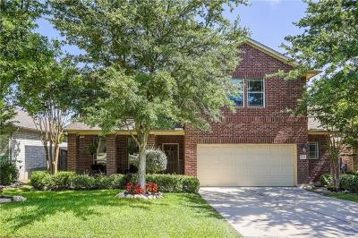 Round Rock Single Family Home For Sale: 1714 Wood Vista Pl