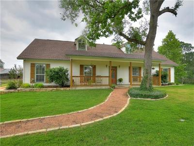 Bastrop County Single Family Home For Sale: 5883 Fm 535