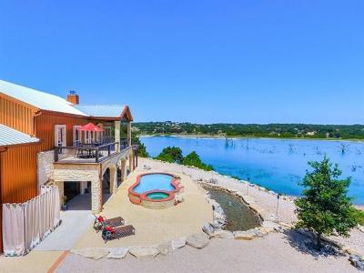Canyon Lake TX Single Family Home For Sale: $1,499,000