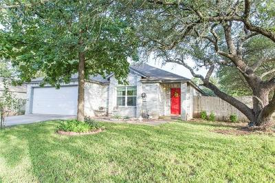 Leander Single Family Home For Sale: 2412 Cottontail Dr