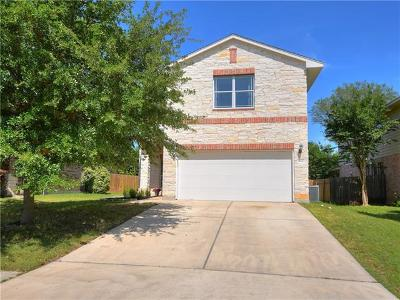 Hays County, Travis County, Williamson County Single Family Home Pending - Taking Backups: 11817 Buzz Schneider Ln