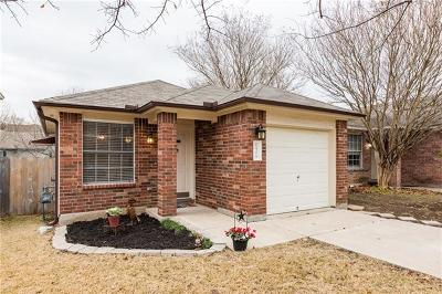 Round Rock Single Family Home Pending - Taking Backups: 1506 Parkfield Cir