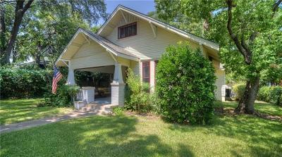 Austin Single Family Home Pending - Taking Backups: 4312 Avenue B