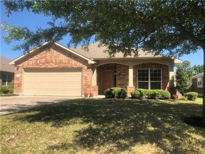 Hutto Single Family Home For Sale: 124 Inman Dr